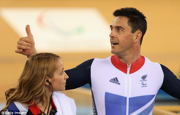 Debut: This is Colbourne's first Paralympics