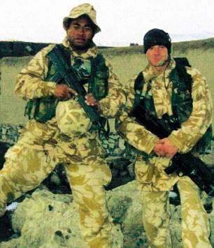 'Before the IED, before the Army, sport was my life,' said Derek