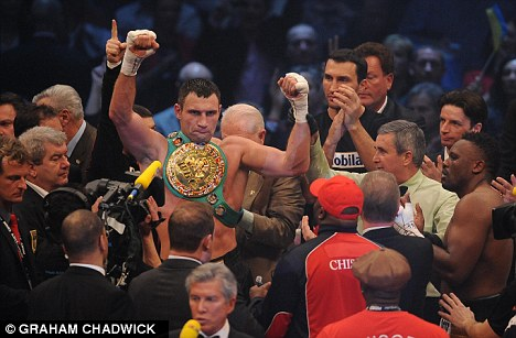 End of the road? Klitschko could yet retire after his next fight