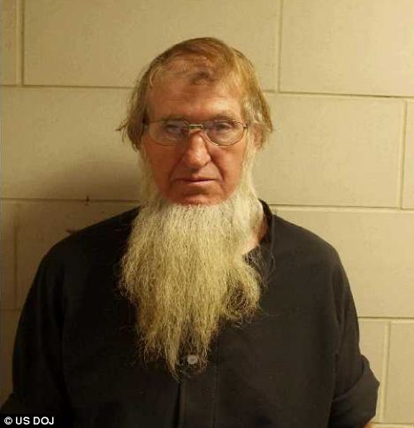 Sexual force: A woman testified that Samuel Mullet Sr, pictured, accused of orchestrating the hair-cutting attacks, forced married women to have sex with him so he could turn them into better wives