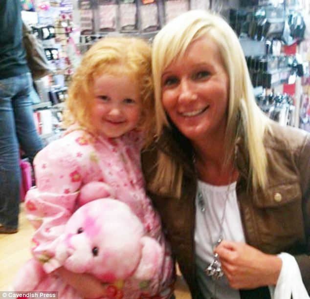 Suicide note: Dawn Makin was jailed for killing her daughter after she stabbed the four-year-old and slit her own wrists, leaving a note reading 'I couldn't leave her with no mummy, that would be too cruel, sorry'