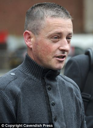Forgiving: Michael Burke says he will always love Dawn Makin, even though she was jailed for killing their four-year-old daughter Chloe