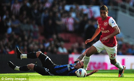 Options: Marouane Chamakh could go on loan to Malaga or Besiktas