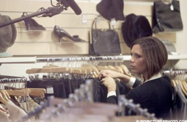 Even fashion-savvy Victoria Beckham has been spied stocking up in her local charity shops