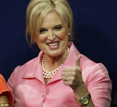Ann Romney has been interviewed on television several times in recent weeks