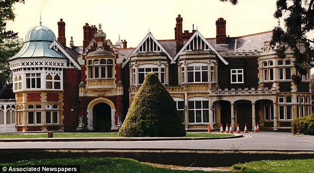 Bletchley Park House in Buckinghamshire, where British scientists, mathematical savants and chess masters cracked the four-rotor Triton code