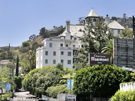 REPUTATION: The Chateau Marmont hotel in West Hollywood