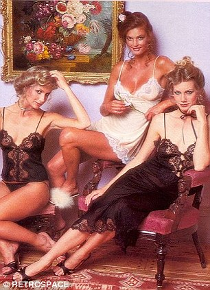 The vintage shots are vastly different from a modern day angels show