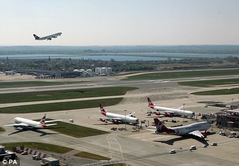 Expansion: Debate has raged for years over a 3rd runway at Heathrow