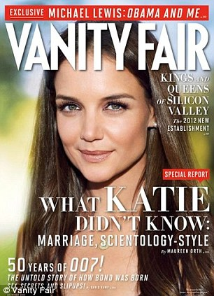Controversial cover story: The October 2012 issue of Vanity Fair