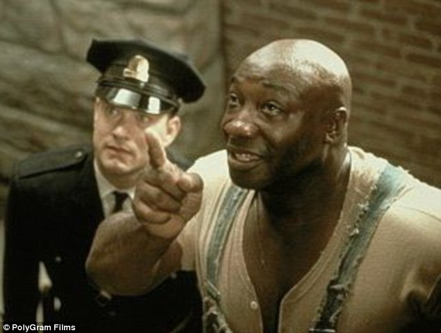 Hollywood success: Michael was nominated for an Oscar following his performance in 1999's The Green Mile