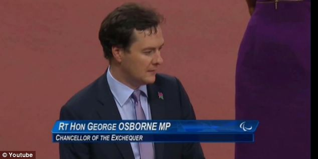 Introduction: The Chancellor would have been seen by a TV audience across the globe