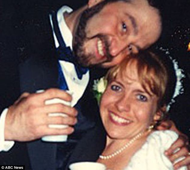 """Happily married: Julie Genovese, 49, who stands at 4""""3' tall and fell in love with Bill, a 5""""6' man, says positive changes towards dwarfism are having a ripple effect"""