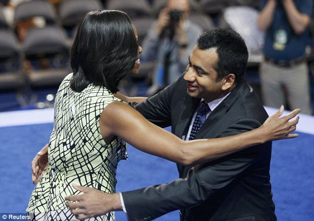 Hugs: Penn worked for the Obama administration extensively since the 2008 election but took a break at one point to film the third movie in the Harold and Kumar franchise