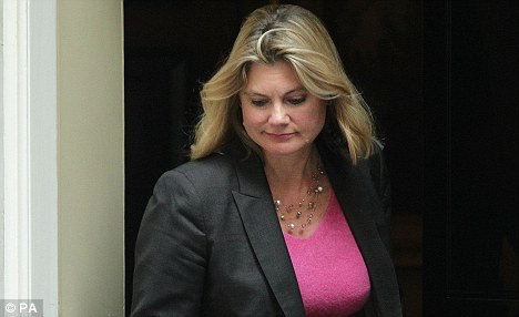 Tactical move: Justine Greening's removal from the Transport brief makes a third runway at Heathrow more likely