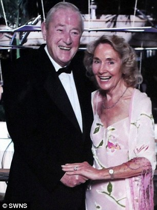 Overcoming her grief: Marion's husband Bruce died in 2010 after 54 years of marriage. She says returning to modelling is helping her deal with her loss