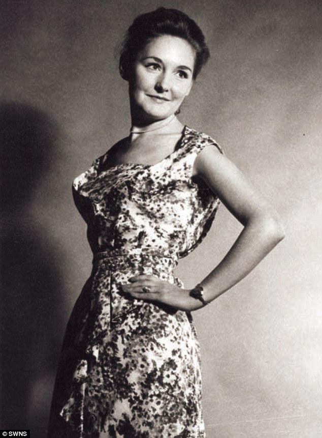 First time round: Marion worked as a  model in the 1940s before becoming a teacher
