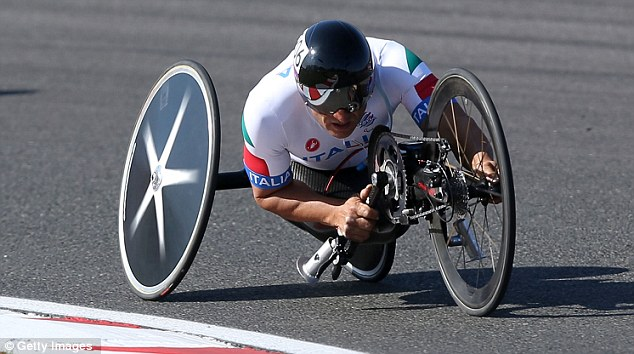 Need for speed: Zanardi blew away the rest of the field, with a winning margin of 27 seconds