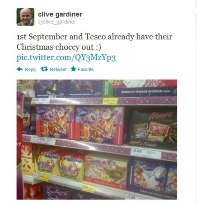 110 Days To Go: Tesco Unveils Dedicated Christmas Isles
