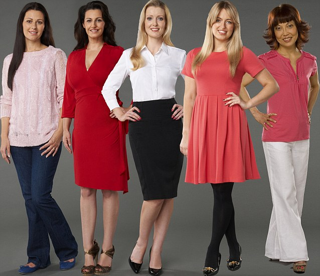 The busy mum, the vamp, the career woman, the girly girl and the retired divorcee