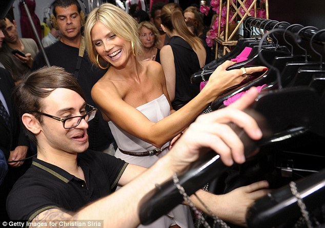 Close pals: Heidi has stayed close and has been incredibly supportive of Siriano since he won season four of her popular TV show in 2008
