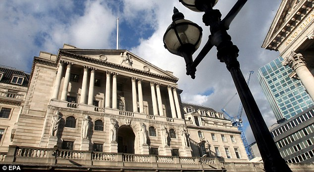 Economic woes: Bank of England recently admitted that QE has increased the fortunes of the wealthiest Britons while eroding the value of many pension funds