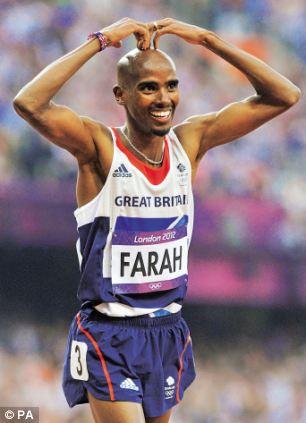 Mo Farah victory