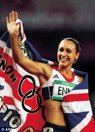 Jess Ennis victory