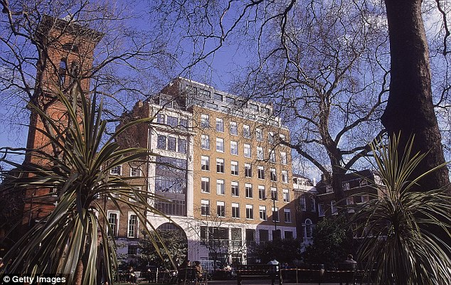 Admission: The FA, based in Soho Square, pictured, says there are new drug cases