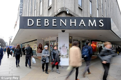 Debenhams on London's Oxford Street is putting some new products straight onto its shelves at a fraction of the full price to generate more consumer interest
