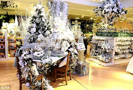 World-renowned brand Harrods hasn't held back in launching its Christmas grotto, which transports visitors into a winter wonderland in September
