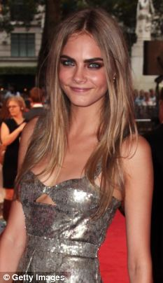 Single: Cara Delevingne appears to have lost interest in Harry Styles