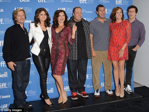 The cast: The press conference for the film took place
