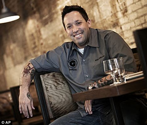 Culinary ambassador: Celebrity Chef Mike Isabella is visiting Greece and Turkey to represent America's food culture