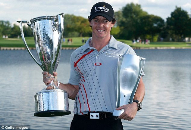 Man in form: McIlroy is fulfilling the promise of his youth and is the man to beat on the tour