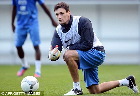 On his knees: Hugo Lloris wants talks with Andre Villas-Boas over his future