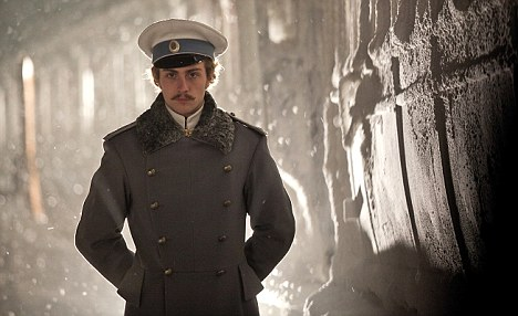 Implausible lover: Aaron Taylor-Johnson as Count Vronsky
