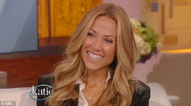 Friends: Singer Sheryl Crow was the second guest on the show as she wrote the theme song