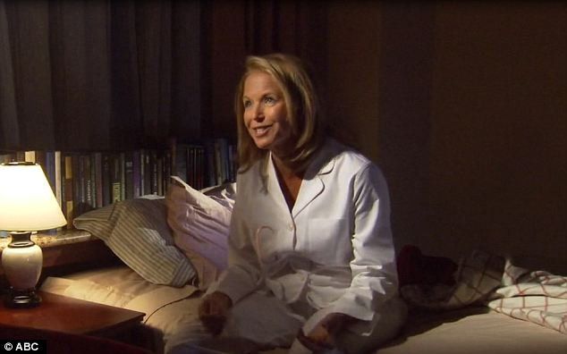 Did I dream it? A 'dream' sequence went through Katie Couric's career history with some clips from her previous posts on the Today Show and CBS Evening News