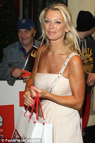 Back to Walford: Gillian Taylforth leaves the Dorchester