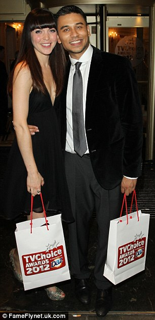 Eastenders actors Rachel Bright and Ricky Norwood