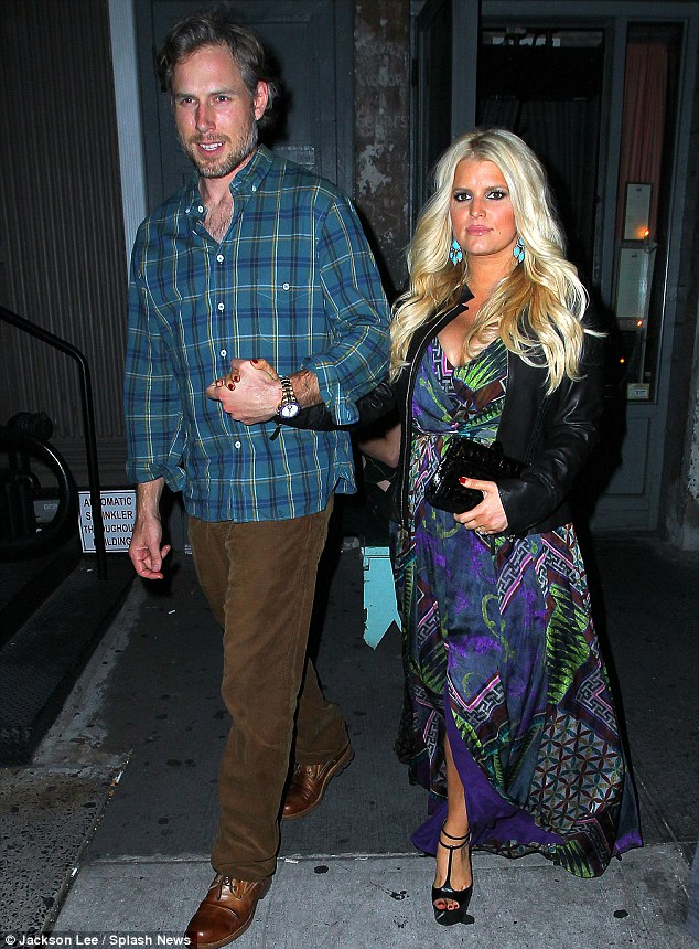 Confidence is creeping back: Jessica and Eric headed out to dinner at Tiny in NYC last night