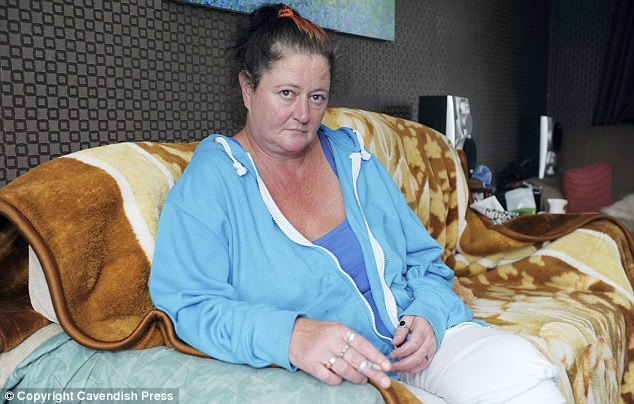 Adamant: Mrs Page, 44, who has lived in and around the Shadsworth Estate in Blackburn, Lancashire for 20 years, said the BBC edited out the fact she could not work because she was 'on the sick'