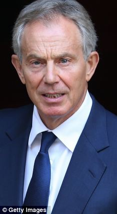 Tony Blair, pictured, promised to make education his priority but his government's huge increase in spending actually led to 'no improvement in student learning outcomes'