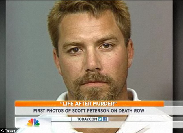 Change: When Peterson was finally arrested, he had dyed his hair blonde and grown a goatee to disguise his appearance