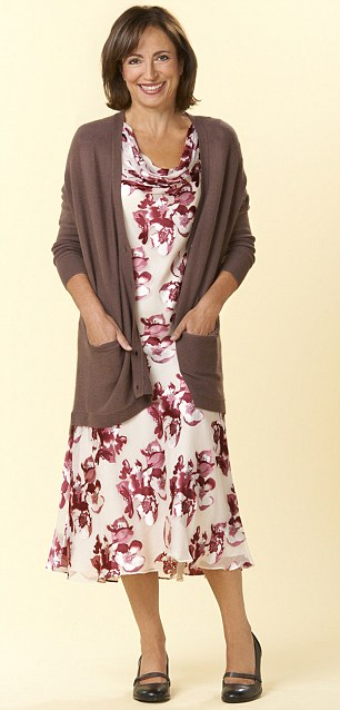DRESS AGE 68: This floral dress looks frumpy on Linda