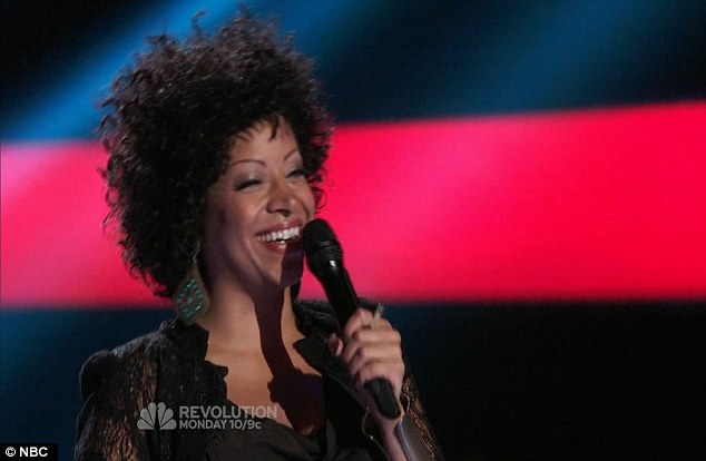 Audience favourite: Nicole Nelson had the audience and all four judges thrilled with her powerful rendition of Hallelujah