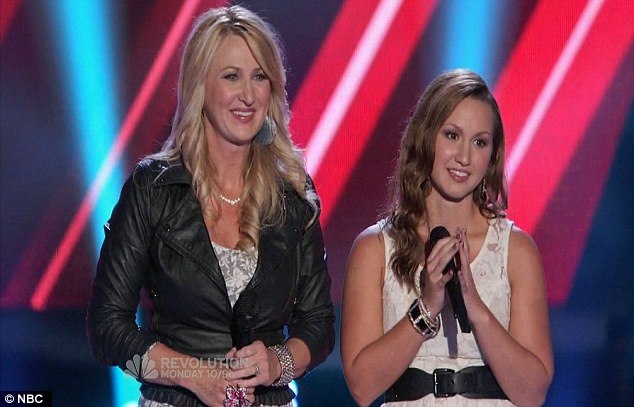 Like mother, like daughter: Allison, 44, and Crystal, 23 impressed both Blake and Cee Lo but ended up picking Blake