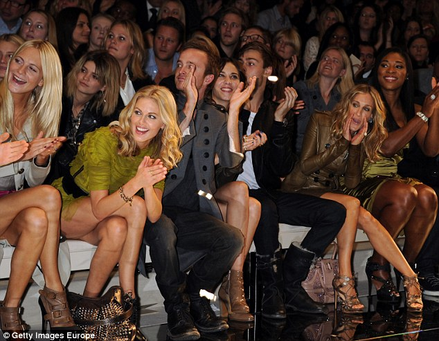 For those of you not lucky enough to be in the front row like Poppy Delevigne, Donna Air, Alexa Chung,  Sarah Jessica Parker and Serena Williams, you can watch live shows in store