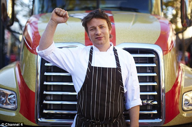 Fight: British chef Jamie Oliver also rallied against the use of the 'pink slime' and McDonald's stopped using it
